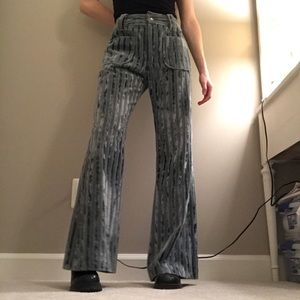 Vintage 60's High Waisted Flare Pants